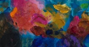 Petite tache #1071, 2014, 6.3 x 11.4 cm.
