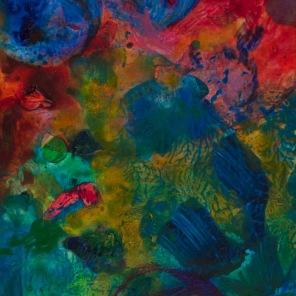 Petite tache #1073, 2014, 12.2 x 9 cm.