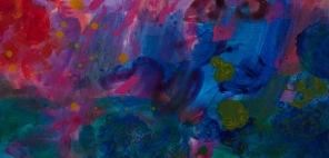 Petite tache #1081, 2014, 9 x 18.1 cm.