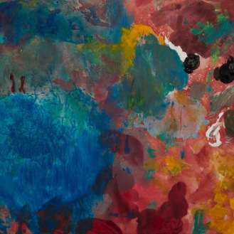 Petite tache #1085, 2014, 14.2 x 15.3 cm.