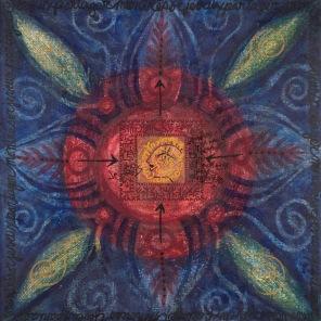 Mon trésor, 2005, 61 x 61 cm.