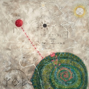 Mon ciel, 2005, 61 x 61 cm.