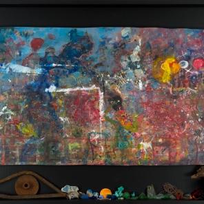 Trésors du hasard, 2015, 110.2 x 79.7 cm.