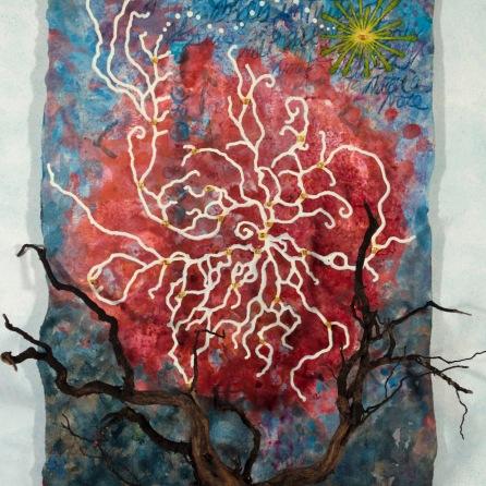 Le trésor de ma psyché, 2011, 106.7 x 81.3 cm.